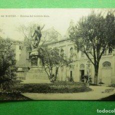 Postales: POSTAL - ESPAÑA - MADRID - 142.- ESTATUA DEL TENIENTE RUIZ - FOT. LACOSTE - NE - NC. Lote 101684171