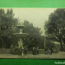 Postales: POSTAL - ESPAÑA - MADRID - 21.- FUENTE DE LA ALCACHOFA - FOT. LACOSTE - NE - NC. Lote 102026091
