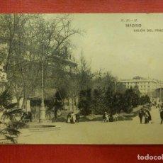 Postales: POSTAL - ESPAÑA - MADRID - SALÓN DEL PRADO - H.M.- M - HAUSER Y MENET MADRID - ESCRITA. Lote 102029171