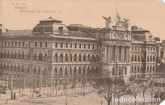 MADRID- MINISTERIO DE FOMENTO (Postales - España - Comunidad de Madrid Antigua (hasta 1939))