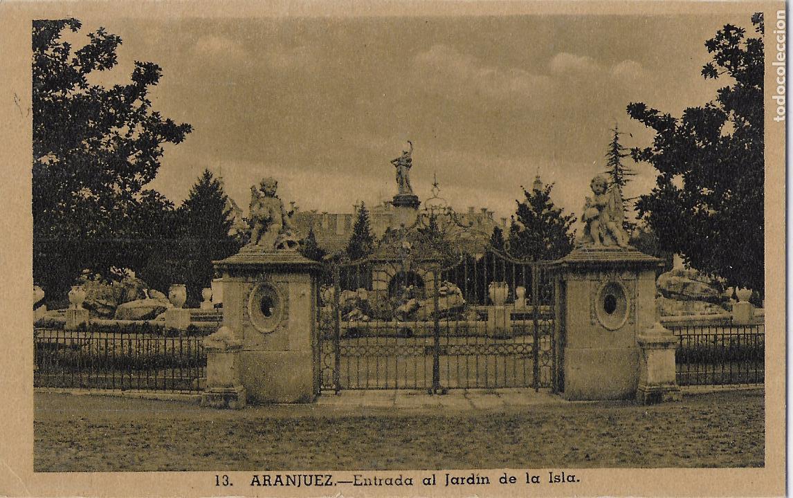 Postales: P- 7775. LOTE DE 8 POSTALES DE ARANJUEZ. - Foto 7 - 102361707