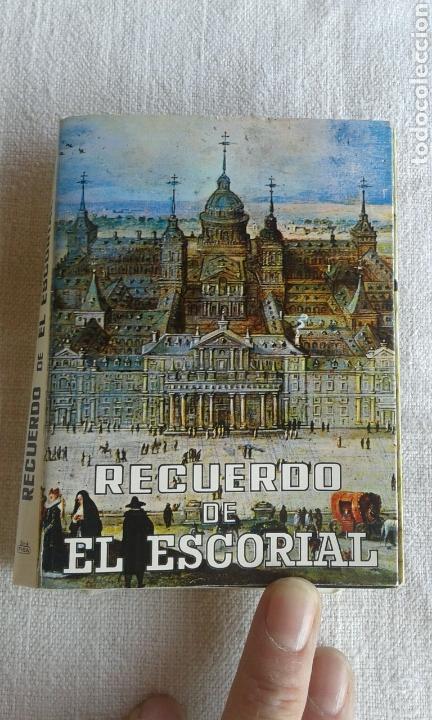 ÁLBUM ACORDEÓN POSTALES EL ESCORIAL (Postales - España - Madrid Moderna (desde 1940))