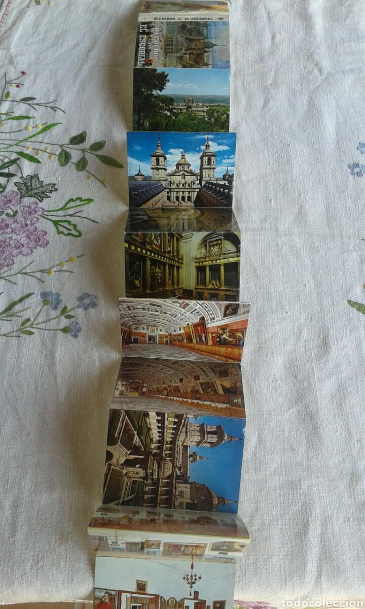 Postales: Álbum acordeón postales El Escorial - Foto 2 - 102601267