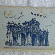 Postales: ÁLBUM ACORDEÓN POSTALES MADRID ED. AFRODISIO AGUADO SA FOTO GARCÍA GARRABELLA 1. Lote 102604111