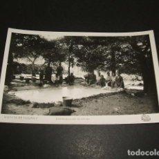 Postales: MORATA DE TAJUÑA MADRID BARRANQUILLO DE ARRIBA LAVANDERAS. Lote 102679579
