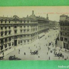 Postales: POSTAL - ESPAÑA - MADRID - 713.- PLAZA DE CANALEJAS - CASTANEIRA ALVAREZ Y LEVENFELD - NE - NC. Lote 102967223