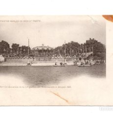 Postales: MADRID.- FIESTAS REALES DE 1902. 3ª PARTE. COLOCACIÓN DE LA 1º PIEDRA DEL MONUMENTO Á ALFONSO XII. Lote 103153331
