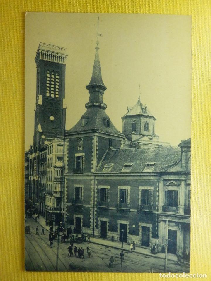 POSTAL - ESPAÑA - MADRID - 199.- PLAZA Y TORRE DE SANTA CRUZ - GRAFOS - NE - NC (Postales - España - Comunidad de Madrid Antigua (hasta 1939))