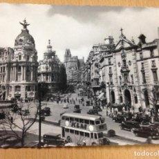 Postales: ANTIGUA POSTAL MADRID VISTA PARCIAL DOMINGUEZ. Lote 103712611