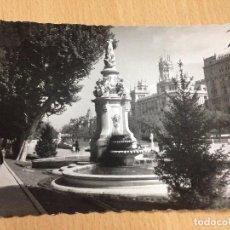 Postales: ANTIGUA POSTAL SALON DEL PRADO MADRID ESCRITA. Lote 103712715
