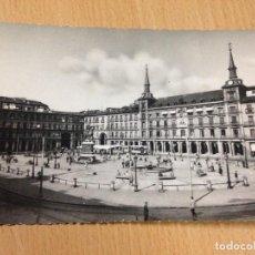 Postales: ANTIGUA POSTAL MADRID PLAZA MAYOR BEA PEP ESCRITA. Lote 103712855