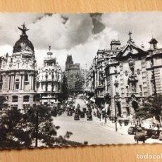 Postales: ANTIGUA POSTAL CALLE ALCALA MADRID GARCÍA GARRABELLA ESCRITA. Lote 103713403