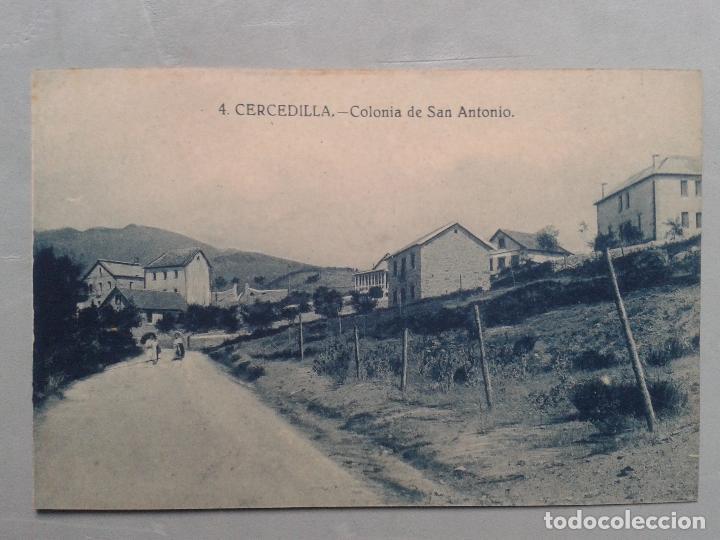 CERCEDILLA. COLONIA DE SAN ANTONIO. (Postales - España - Comunidad de Madrid Antigua (hasta 1939))