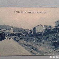 Postales: CERCEDILLA. COLONIA DE SAN ANTONIO.. Lote 103964071