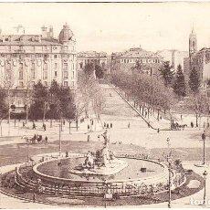 Postales: ANTIGUA POSTAL MADRID - HOTEL RITZ - PLAZA CIBELES. Lote 104250571