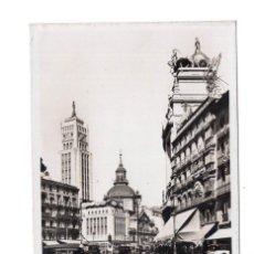 Postales: MADRID.- CALLE SEVILLA. CRUCE CALLE ALCALÁ - L.ROISÍN. Lote 104276971