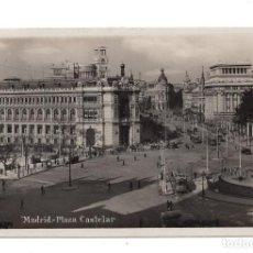 Postales: MADRID.- PLAZA DE CASTELAR .FOT . GH.ALSINA. CALIDAD FOTOGRÁFICA. Lote 104277723