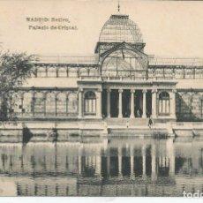 Postales: POSTAL MADRID - RETIRO, PALACIO DE CRISTAL - HAUSER Y MENET. Lote 104326011