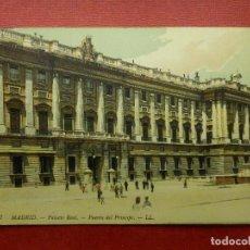 Postales: POSTAL - ESPAÑA - MADRID 7.- PALACIO REAL, PUERTA DEL PRÍNCIPE - LL -L.L.- LOUIS LEVY - NE - NC. Lote 104480791