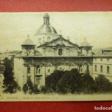 Postales: POSTAL - ESPAÑA - MADRID - 33.- IGLESIA DE SANTA BÁRBARA - LL -L.L.- LOUIS LEVY - NE - NC. Lote 104481599