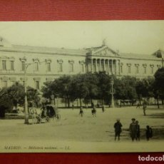 Postales: POSTAL - ESPAÑA - MADRID - 37 MADRID BIBLIOTECA NACIONAL - LL - L.L.- LOUIS LEVY - NE - NC. Lote 104484583