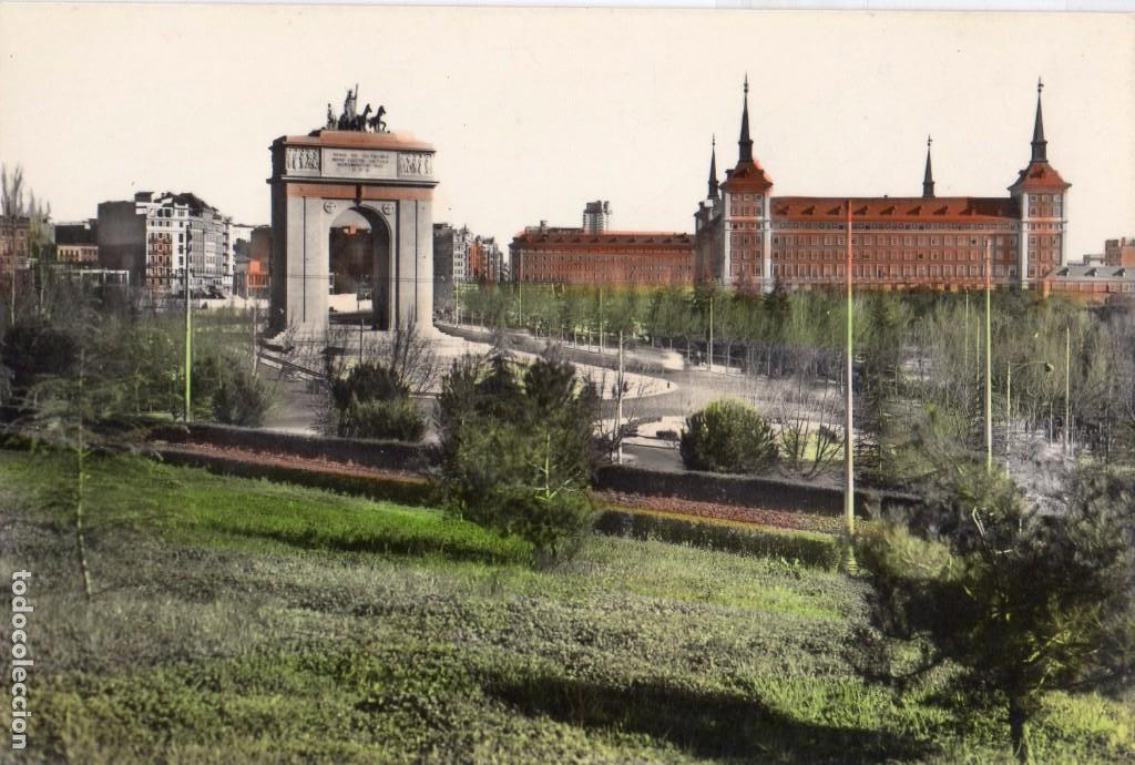 Madrid Arco Del Triunfo Sin Circular Fto P Comprar Postales