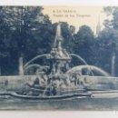 Postales: ANTIGUA POSTAL DE LA GRANJA, MADRID. FUETE DE LOS DRAGONES. W. Lote 104664163