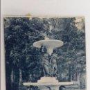 Postales: ANTIGUA POSTAL DE LA GRANJA, MADRID. FUENTE DE LAS TRES GRACIAS. W. Lote 104664215