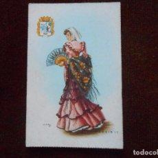 Postales: TRAJE TIPICO MADRILEÑA. Lote 104887103