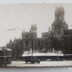 Postales: POSTAL DE MADRID. 1953. PALACIO DE COMUNICACIONES LA CIBELA.. Lote 104956135