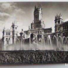 Postales: POSTAL DE MADRID. 1957. PALACIO DE COMUNICACIONES LA CIBELAS. N 34. Lote 104956299