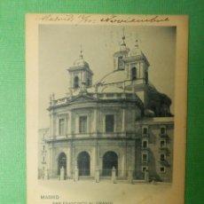 Postales: POSTAL - MADRID - 721.- SAN FRANCISCO EL GRANDE - H.M.M - HAUSER Y MENET - ESCRITA EN 1902 . Lote 105057191