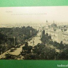 Postales: POSTAL - MADRID - CALLE ALCALÁ DESDE LAS ESCUELAS AGUIRR- HAUSER Y MENET - NO ESCRITA - NO CIRCULADA. Lote 105059175