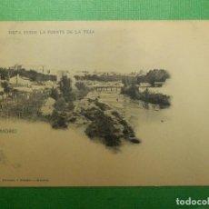 Postales: POSTAL - MADRID - 280.- VISTA DESDE LA FUENTE DE LA TEJA- HAUSER Y MENET - NO ESCRITA - NO CIRCULADA. Lote 105059243