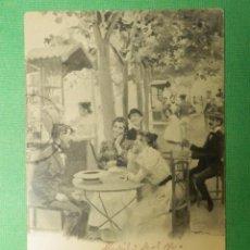 Postales: POSTAL - MADRID - 426.- EN RECOLETOS - ROMO Y FÜSSEL - H.M.M - HAUSER Y MENET - ESCRITA EN 1900. Lote 105059303