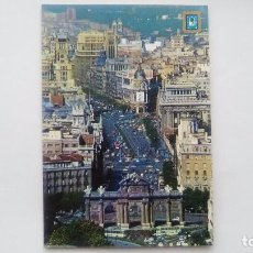 Postales: POSTAL DE MADRID. 1988. PUERTA DE ALCALA.ESCUDO DE ORO. N 65. Lote 105416995