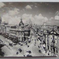 Postales: POSTAL DE MADRID. 1961. EL FENIX, CALLE ALCALA Y AVENIDA JOSE ANTONIO. N 18. Lote 105419399