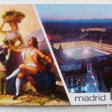 Postales: POSTAL DE MADRID. 1987. GOYA. LA VENDIMIA - PLAZA MAYOR. DOMINGUEZ. N 96. Lote 105422191