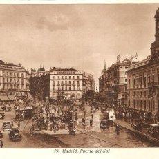 Postales: MADRID PUERTA DEL SOL. Lote 105566475