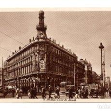 Postales: MADRID .- CALLE DE ALCALÁ - HUECOGRABADO DE KALLMEYER Y GAUTIER . Lote 105669815