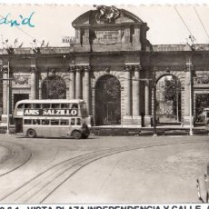 Postales: MADRID.- PUERTA DE ALCALA, CIRCULADA 1961. FTO.F.MOLINA,JMOLINA1946. Lote 106075275