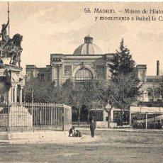 Postales: MADRID.- MUSEO DE HISTORIA NATURAL, SIN CIRCULAR. FTO.H.A.E,JMOLINA1946. Lote 107020155