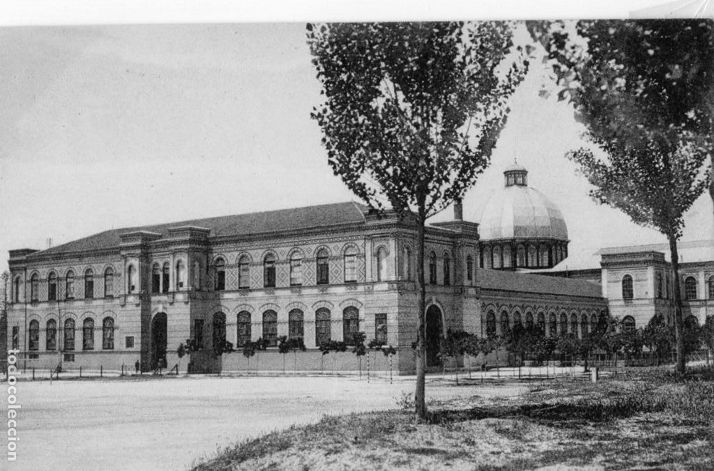 MADRID.- MUSEO DE HISTORIA NATURAL, SIN CIRCULAR. FTO. GRAFOS.JMOLINA1946 (Postales - España - Comunidad de Madrid Antigua (hasta 1939))