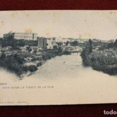 Postales: POSTAL MADRID, VISTA DESDE LA FUENTE DE LA TEJA, DE HAUSER Y MENET. Lote 107222783