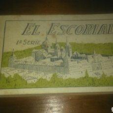 Postales: BLOCK DE 20 POSTALES DE EL ESCORIAL, PRIMERA SERIE.. Lote 107229932