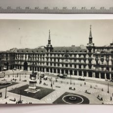 Postales: POSTAL. 48. MADRID. PLAZA MAYOR. DOMÍNGUEZ. H. 1960. Lote 107430847