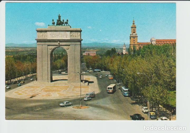 Postal Madrid Arco Del Triunfo 10 Comprar Postales De Madrid En