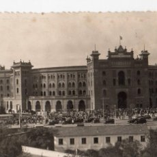 Postales: MADRID.- PLAZA DE TOROS, CIRCULADA S/F. FTO. F. MOLINA, JMOLINA1946. Lote 107563707