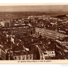 Cartes Postales: MADRID - PLAZA MAYOR A VISTA DE PAJARO - Nº 28 - ED. KALLMEYER. Lote 107606151