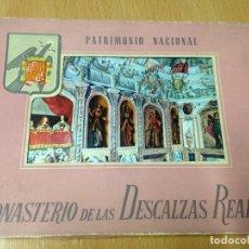 Postales: MONASTERIO DE LAS DESCALZAS REALES . 10 POSTALES. Lote 107669119